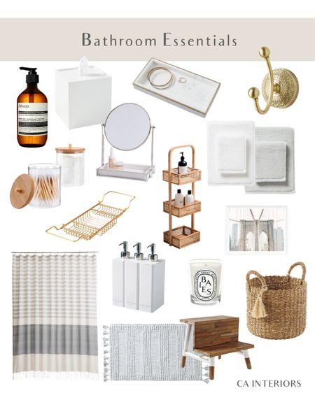 Bathroom essentials to organize and make your bathroom more enjoyable!   #LTKhome