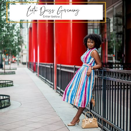 """It's #Giveaway month here on Girl Meets Soul and I am here for it! 🙌🏾🙌🏾🙌🏾 Anything to help your 2020 end on a higher note than where it started.   To usher in fall and help you guys reset your wardrobe with a new style, I'm thrilled to be teaming up with@leotanewyork! One of you lucky ladies will get the chance to win a FREE dress of YOUR CHOICE!   If you're not familiar with Leota, I'm super excited to introduce you to this brand that totally gets women who do it all. Between being present for my vivacious 21 month old girl,@GenevieveLeilani, practicing at an international law firm,running my own coaching business, and maintaining my marriage, """"multitasking"""", doesn't even begin to cover it. Leota takes one thing off my plate by providing beautiful dresses that are--wait for it--machine washable and dryable! No need to sacrifice style.   TO ENTER:  1. Like this post. 2. Follow me and @leotanewyork 3. Tag 2 friends in the comments below.  4. Enter your email in the link in my bio (just find this pic).   For extra entries (optional):  • Re-share this post to your feed using #LeotaInTheWild and tag @thegmslifestyle and @leotanewyork. •  Leave a comment on the giveaway post on my blog (link in bio) with the name of the dress you'd like to win fromLeotaAND your IG handle.  This giveaway is open until 11:59 CST on Wednesday, September 16, 2020. The winner will be announced on September 18, 2020.   Remember, the more entries you complete, the more chances you have to win! Open to U.S. residents only. No purchase necessary. Void where prohibited.   http://liketk.it/2Wb2r @liketoknow.it #liketkit"""