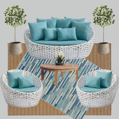 Modern outdoor patio furniture http://liketk.it/3i30w #liketkit @liketoknow.it