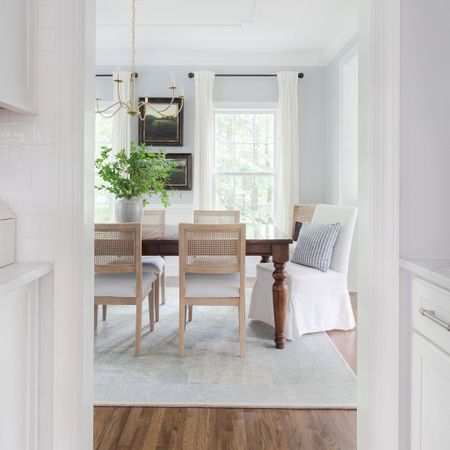 I'll my ready to have friends over again. My dining room is lonely and I think a much needed ladies night needs to be scheduled. Dining Room, dining table, pottery barn, joss & main   #StayHomeWithLTK #LTKhome #LTKstyletip