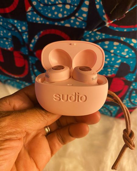 Music is life! And so is a great pair of earbuds! @sudio #gifted me the Tolv True Wireless Earbuds  . . ❤️ the color! Ladies, can you get with this pink?  ❤️ that they are wireless! I wear them all day while working! Makes my day go by faster. You'll find me sneaking in some dance moves on the job!  _____________________________ The Deets: •Clean and minimal design  •7 hours of playback per charge •Quick access buttons for playback controls and answering of calls •Microphones built into earbuds •Great sound quality  •USB charging •Easy to pair with your iPhone _______________________________________ Wanna save some coins — Sale today 25% off site wide, plus 10% when you use code SP64.  More in my stories!  _____________________________ #sudio #sudiomoments #shapingsound #musicislife #nytherapy #earbuds  http://liketk.it/30SNE @liketoknow.it Screenshot this pic to get shoppable product details with the LIKEtoKNOW.it shopping app @liketoknow.it.home #liketkit