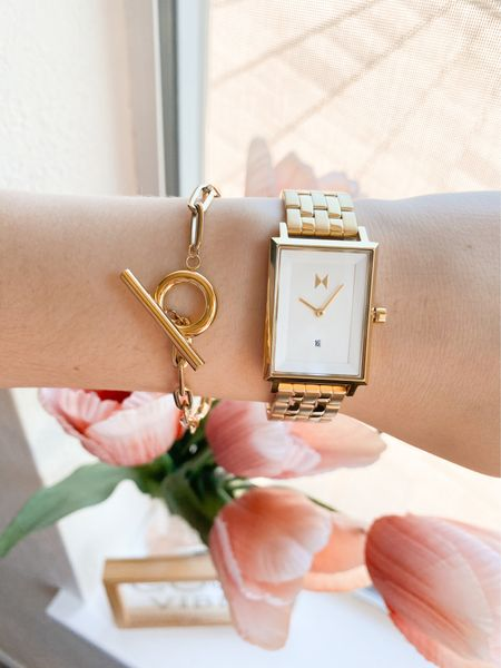 Love these movement brand pieces! Great price point & amazing quality💓 {gifted - all opinions are my own though} #bracelet #watches #accessories #jewelry   #LTKstyletip #LTKSeasonal #LTKworkwear