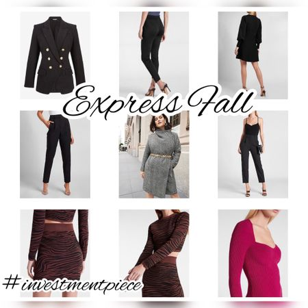 From knits to blazers, @express has everything you need for fall! And during the LTK Early Gifting Sale (9/19-21) get $10 off $100! #investmentpiece   #LTKstyletip #LTKSale #LTKsalealert