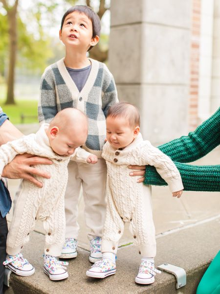 Sweater onesies and converse kicks   Screenshot this pic to get shoppable product details with the LIKEtoKNOW.it shopping app http://liketk.it/2Z8xI #liketkit @liketoknow.it @liketoknow.it.family #LTKbaby #LTKfamily #LTKkids