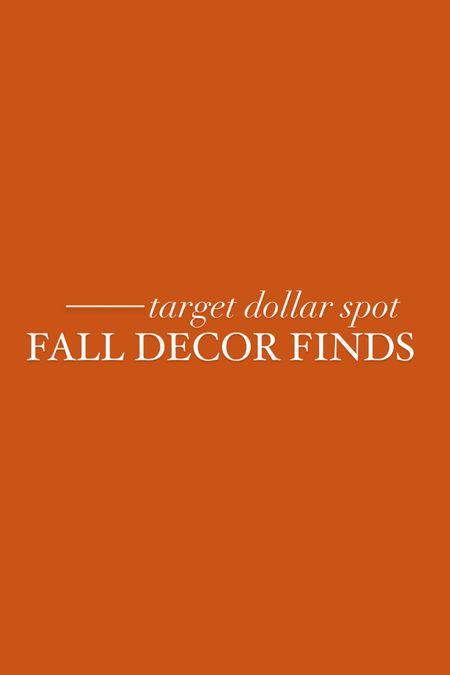 target dollar spot Halloween and fall decor!     #LTKunder50 #LTKSeasonal #LTKhome