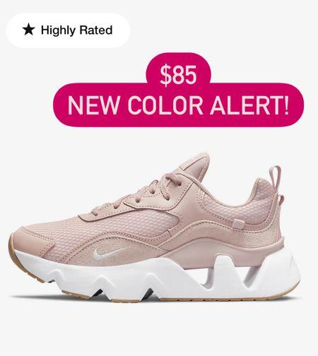 Nike ryz tennis shoes pink   #LTKshoecrush #LTKunder100