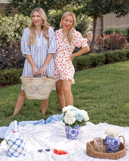 Twinning Tuesday 👯♀️ Rain rain 🌧 go away I want some picnic weather back!!! Also just an FYI I have found sooooo many good dresses at Target lately that I can wear for fun and to the office. This was one of the designer dress collabs and is sold out, but I'm going to link some other affordable favorites on the @shop.LTK app! @liketoknow.it #liketkit http://liketk.it/3jFCQ  . . . #twinningiswinning #besties #twinningtuesday #summerpicnics #backyardstyle #preppystyle #summerdresses #ltkunder50 #ltkstyletip #targetstyle #affordablefashion #targetfinds #orlandobloggers #thefashionableaccountant