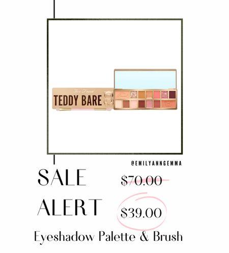 Too Faced, Too Faced Teddy Bare, Eyeshadow Palette, Best Eyeshadow, Emily Ann Gemma, QVC, Sale Alert, Makeup Gift Ideas, Best Beauty Gifts 2021 http://liketk.it/3qqy5  #LTKsalealert #LTKbeauty