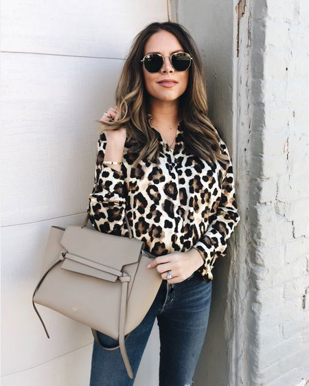 I'm pretty sure I have one too many leopard tops but who's counting 🖤🐾 http://liketk.it/2zO5b #liketkit #LTKbump #LTKunder100 @liketoknow.it #leopard