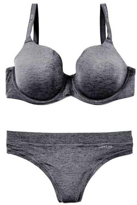 Received this bra set from Adore Me! It holds my girls nicely and the underwear are full coverage and so comfortable!   #LTKstyletip #LTKsalealert #LTKcurves