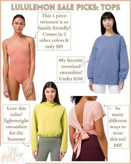Some tops on sale at Lululemon! Love these picks!! http://liketk.it/3eVNv #liketkit @liketoknow.it #LTKsalealert #LTKswim #LTKunder100