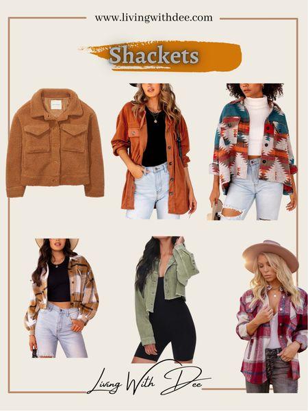 Shackets Fall fashion Flannel jackets   #LTKunder100 #LTKunder50 #LTKstyletip