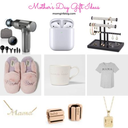 Mother's Day gift ideas for every type of momma! Amazon, Target & Nordstrom finds to make your shopping stress-free! From my favorite massager, air pods, jewelry organizer, to mama branded goods and some jewelry & Bala workout gear, I've got you covered!   #LTKfamily #LTKSeasonal #LTKfit