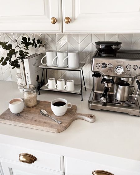 Coffee bar, espresso machine, kitchen accessories, kitchen essentials, neutral home decor, simple home decor, white kitchen, StylinByAylinHome Follow my shop on the @shop.LTK app to shop this post and get my exclusive app-only content!  #liketkit  @shop.ltk http://liketk.it/3k9ny Follow my shop on the @shop.LTK app to shop this post and get my exclusive app-only content!  #liketkit  @shop.ltk http://liketk.it/3kd4e Follow my shop on the @shop.LTK app to shop this post and get my exclusive app-only content!  #liketkit  @shop.ltk http://liketk.it/3kkXx  #LTKunder100 #LTKhome #LTKstyletip