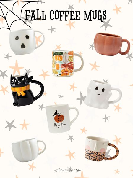 fall coffee mugs 🍂  #LTKSeasonal #LTKhome