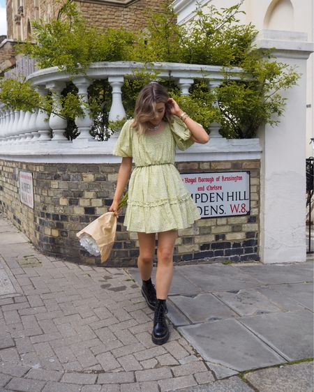 A little green floral dress is always always always a good idea!   This one is an old one from & other stories but have linked some beautiful green floral dresses    #LTKeurope #LTKSeasonal