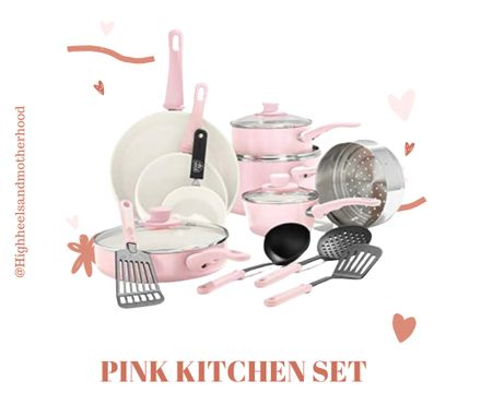http://liketk.it/3gGCj #liketkit @liketoknow.it check out this super cute dish set 🥰😌. You guys know that I love Pink!  I love all home decor, but who doesn't love super cute kitchen decor? @liketoknow.it.home Shop your screenshot of this pic with the LIKEtoKNOW.it shopping app
