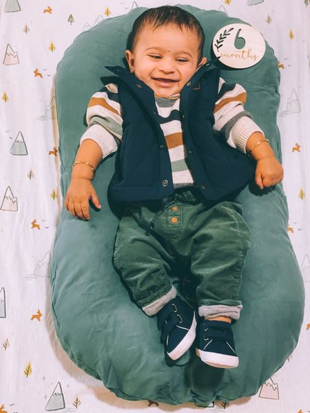 Baby boy fall style, 6 months baby boy pictures, baby outfits, Baby fall finds, birthday milestone pictures, 6 months old pictures  #ltkseasonal #ltkunder50  #LTKfamily #LTKbaby #LTKkids