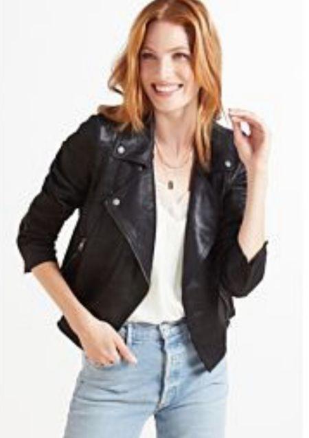 Moto Jacket  #LTKtravel #LTKworkwear #LTKstyletip