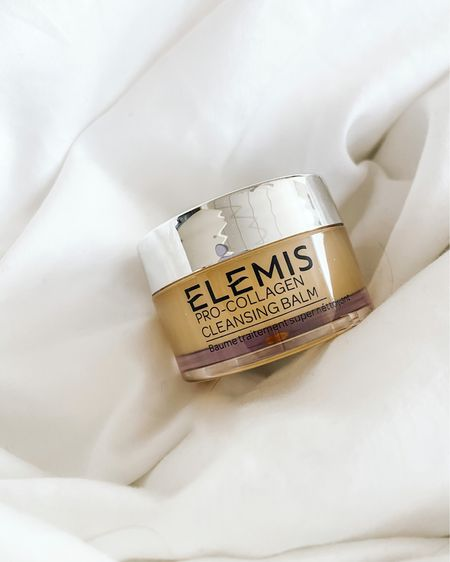 Cleansing balm is such an important part of my skincare routine. Cleansing balm or cleansing oil helps break down makeup and sunscreen to help really make sure your skin gets clean! I love this one by Elemis and it's currently part of the LIKEtoKNOW.it sale!!   #LTKbeauty #LTKunder50 #LTKDay