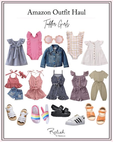 Amazon outfit haul: toddler girls. I've rounded up some of my favorite picks for Amazon girls' styles for summer! http://liketk.it/3dlic #liketkit @liketoknow.it #LTKkids #LTKbaby #LTKstyletip