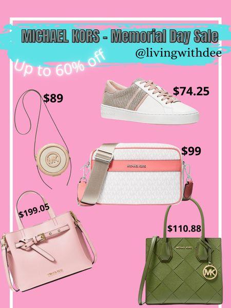 Michael Kors Memorial Day Sale - up to 60% off, no code needed. #michaelkors #memorialdaysale #handbag #purses #sneakers / http://liketk.it/3gsxx #liketkit @liketoknow.it #LTKitbag #LTKsalealert #LTKshoecrush