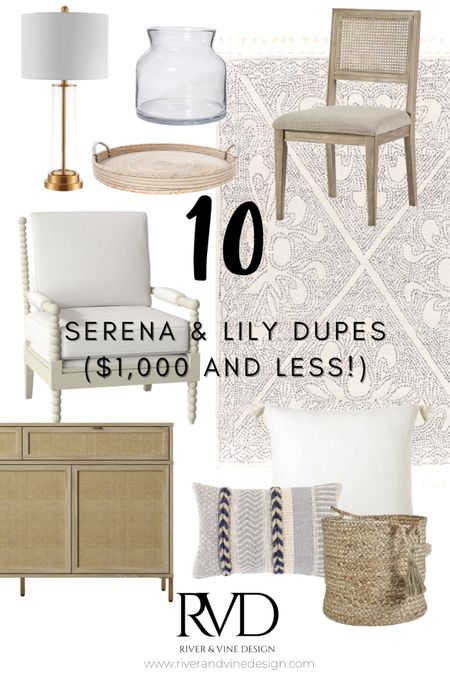 Everyone knows and loves that classic Serena and Lily look, but doesn't necessarily love the price tag 😢 Guess what?! I did a round up of my favorite Serena and Lily dupes, which are all less than $1,000 each! I'm all about ballin' on a budget y'all 🏀  .  http://liketk.it/3cXCe #liketkit @liketoknow.it @liketoknow.it.home  .  You can instantly shop my looks by following me on the LIKEtoKNOW.it shopping app!
