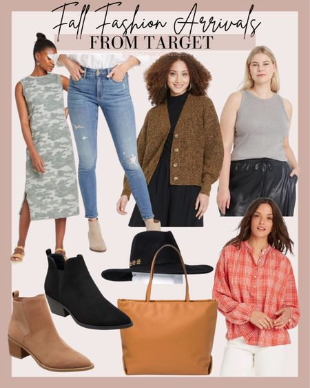 Target fall outfits, curvy outfits, blazer, fall booties, work tote bag