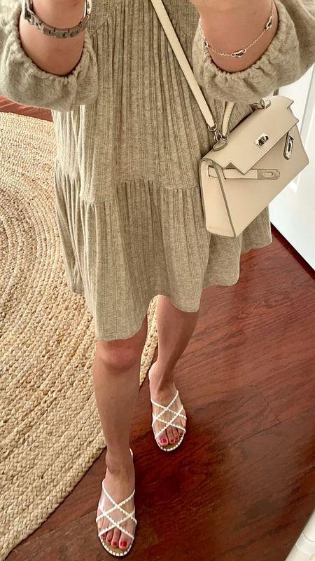 Beautiful neutral sandals. I went up half a size for extra length. @liketoknow.it http://liketk.it/3h3tX #liketkit   #LTKunder50 #LTKSeasonal #LTKshoecrush
