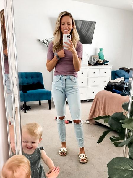 Casual outfit that ISN'T baggy jeans and a sports bra like the crazy kids are wearing 😜  (Plus a side of Viv)  http://liketk.it/3hRCw #liketkit @liketoknow.it
