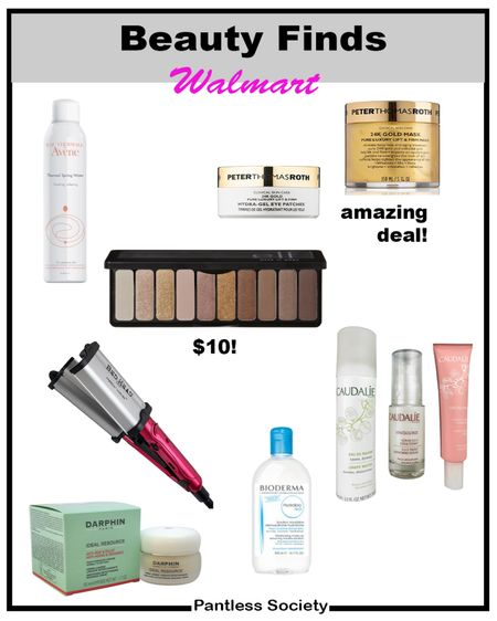 Walmart beauty finds. Sale alert. Find amazing beauty and skincare items at Walmart for less than regular retail prices. My favorite pick is the Peter Thomas Roth 24k eye patches. These also make great gifts.   #LTKunder50 #LTKbeauty #LTKGiftGuide