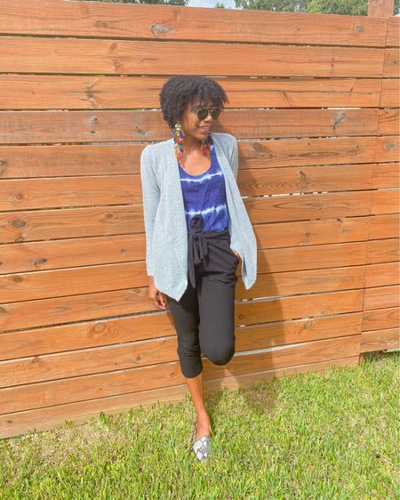 Paper bag pants + tie dye shirt + snakeskin mules are perfect for fall http://liketk.it/2VTU6 #LTKunder50 #LTKworkwear #LTKstyletip  #liketkit @liketoknow.it