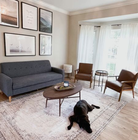 Rugs, accent chair, sofa, coffee table  #LTKhome #LTKsalealert