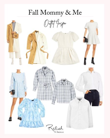 Fall Mommy and Me Outfit Inspiration - Matching Dresses, Matching outfits, mom and daughter clothing   #LTKstyletip #LTKkids #LTKfamily