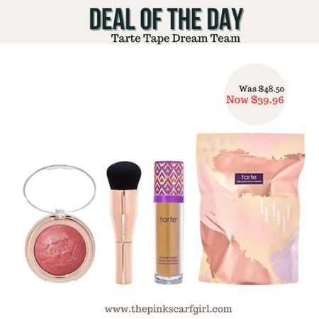 Tarte Super-Size Shape Tape Dream Team 3pc with Auto-Delivery With Auto-Delivery, you'll receive concealer, blush every 90 days, plus 2-in-1 blush on first shipment    #LTKbeauty #LTKunder50 #LTKGiftGuide