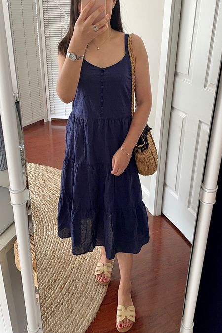"""$45 swiss dot nightgown dress. Size XS was too loose on me but would be cute on someone taller. I'm 5' 2.5"""" and 113 pounds.   #LTKunder50 #LTKshoecrush #LTKunder100"""