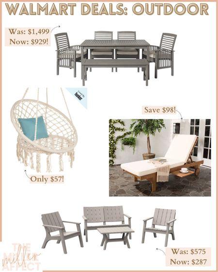 Deals on so much patio furniture at Walmart! http://liketk.it/3hZZb #liketkit @liketoknow.it #LTKsalealert #LTKhome