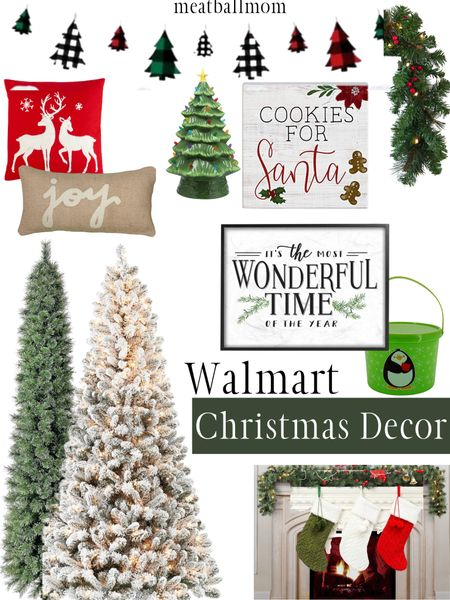 Walmart Christmas decor for the home          Christmas, Christmas decorations, #ltkholidaystyle #ltkfall Walmart finds    #StayHomeWithLTK #LTKhome #LTKunder50 http://liketk.it/2Zq3F #liketkit @liketoknow.it