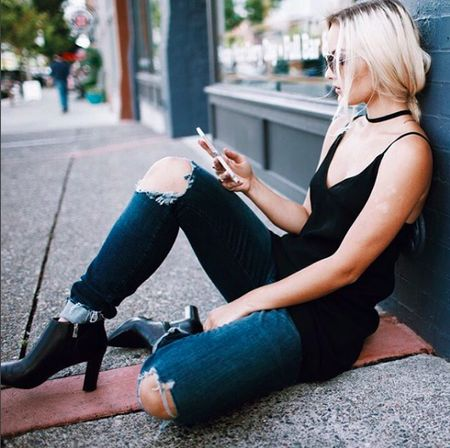 Hey, shady lady 😎. @Morgan_Lillian is rocking our new Carver boot. Get yours at #Zappos. http://liketk.it/2phmA @liketoknow.it #liketkit #WearITtoWork