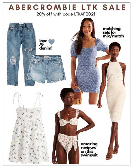 Abercrombie LTK sale 20% off  Summer wedding guest dress jeans outfits   @liketoknow.it http://liketk.it/3hmkE #liketkit #LTKDay #LTKsalealert #LTKunder100
