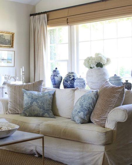 Blues and whites for summer!💙💙 @liketoknow.it #liketkit http://liketk.it/3ihl1 @liketoknow.it.home #LTKhome #LTKunder100 blueandwhitedecor summerdecor summerdecorideas summerdecorating
