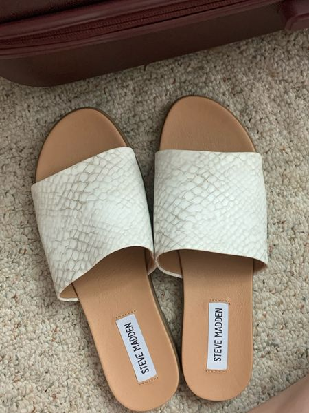 The perfect summer shoe! I'm taking these on vacation because they're so comfy!   #LTKunder50 #LTKSeasonal #LTKbeauty