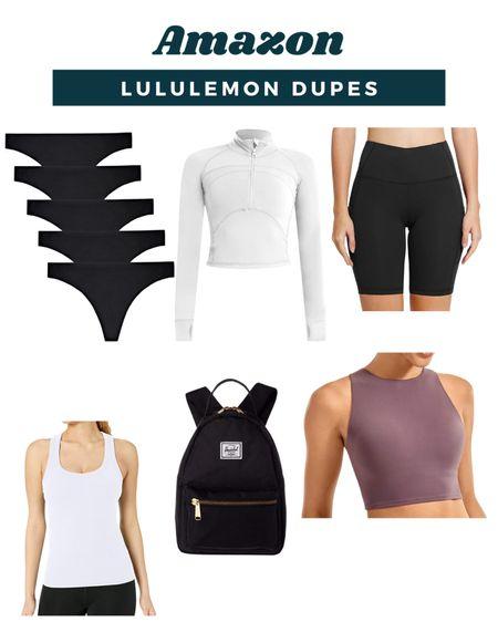 Amazon Lululemon Dupes  #LTKfit #LTKstyletip #LTKunder50
