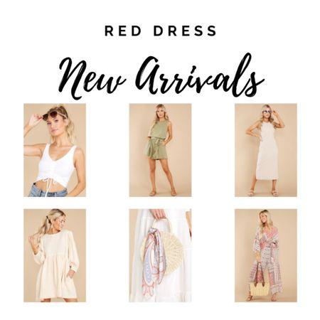 Rompers and dresses, accessories for summer. Red Dress New http://liketk.it/3haUD #liketkit @liketoknow.it #LTKitbag #LTKtravel #LTKunder50
