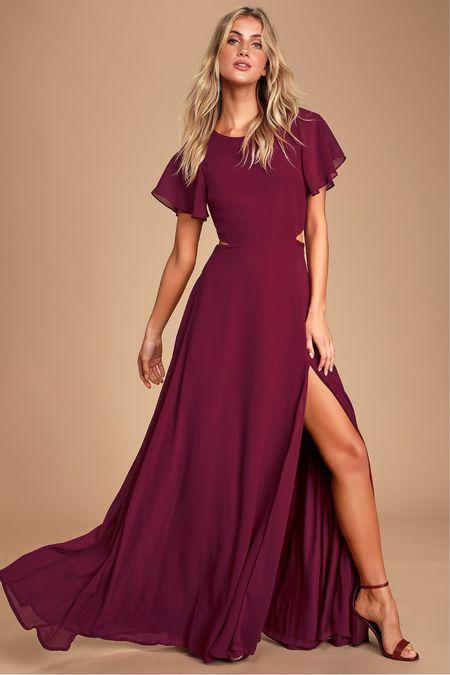 The perfect maxi wedding guest dress or engagement session dress! http://liketk.it/39sak #liketkit @liketoknow.it #LTKwedding #LTKunder100