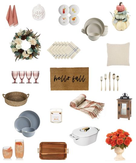 Ready for Fall 🍁🍂 Love all these under $100 home decor finds from @walmart! #ad #walmarthome #walmart #fall #falldecor #athome #interiors #under100 #cozy #interiors #decor #tabletop   #LTKunder100 #LTKunder50 #LTKhome
