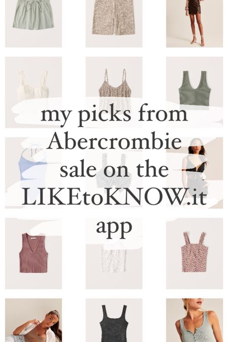 Grab an extra 25% off at Abercrombie through the @liketoknow.it app today! http://liketk.it/3ct4V #liketkit #LTKSpringSale #LTKsalealert #LTKunder50