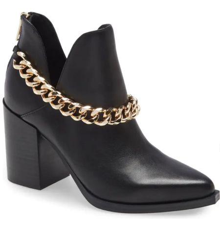 Obsessed with these booties! #nordstrom #nordstromsale #nsale #stevemadden #booties #fallstyle #fallboots #blackbooties   #LTKunder100 #LTKshoecrush #LTKsalealert