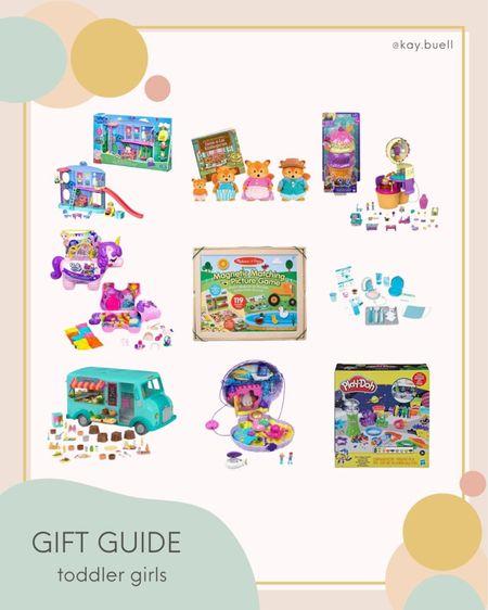 Toddler girl gift guide 💕   #LTKGiftGuide #LTKkids #LTKHoliday