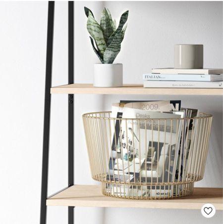 I love a good basket and this one is on major sale! Grab a few for coordinating storage   #LTKhome #LTKGiftGuide #LTKsalealert